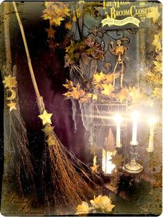 Love the broom with the star
