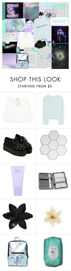 """remember cuddles in the kitchen; ❤️"" by sadtrashqueen ❤ liked on Polyvore featuring Chloé, Lanvin, Chome, ASOS, Clips, Chicnova Fashion and kitchen"