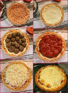 Top of Old Smokey Meatball & Spaghetti Pie Meatball & Spaghetti Pie! 5 EASY layers of heaven! 5 EASY layers of heaven! Italian Recipes, Beef Recipes, Cooking Recipes, Spaghetti Pie, Good Food, Yummy Food, Pasta Dishes, Dinner Recipes, Gourmet