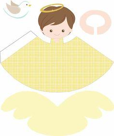Ángel amarillo