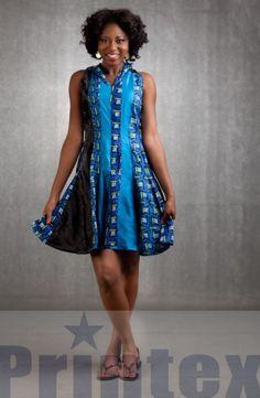 La styliste Misao Suzuki a réalisée une collection de vêtements en collaboration avec la compagnie textile ghanéenne Printex. La collection dénommée Blink compte principalement des robes avec des coupes simples, des combishorts ou les imprimés Printex avec leurs couleurs vives et attrayantes sont mises en valeur de la meillure manière qu'il soit. Suzuki est diplômée ...