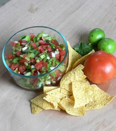 Chunky Fresh Tomato Salsa - Bless This Mess