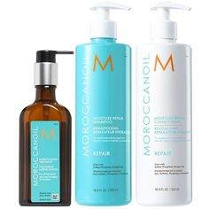 Love this stuff! MOROCCANOIL Hair Set (Nordstrom Exclusive) found on Polyvore