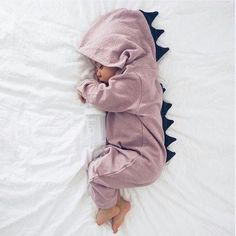 a7567f3ee0e Baby Dinosaur Onesie Keep your little one comfy and warm in this adorable  dinosaur onesie.
