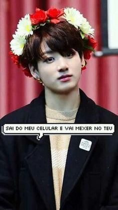 ||BTS|| Wallpaper #JungKook #Balãozinho