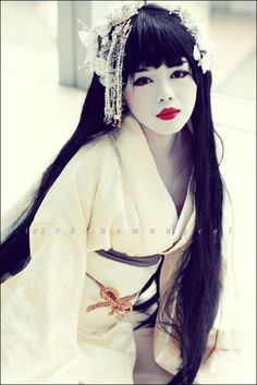 """I love it. Japanese style, but would be considered """"goth"""" with the right clothing. lol."""