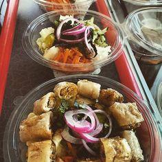 Salade bun nem #foodtruck  #foodtruckvietnamien #foodtrucktoulouse #foodtruckasia #lecamihong by lecamihong