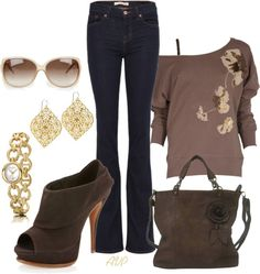 """Poppy Scoop Neck Sweater"" by amy-phelps on Polyvore"