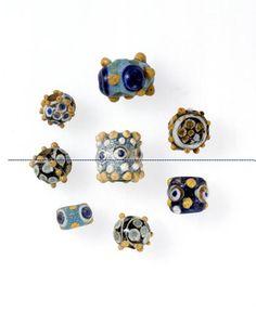 Phoenician or Carthaginian Glass Eye Beads | Flickr - Photo Sharing!