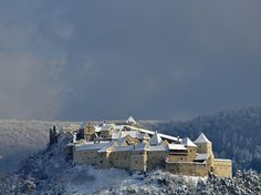 """Romania in Top of the Most Beautiful """"Snow Castles"""" in the World. The Beautiful Country, Most Beautiful, Beautiful Places, Snow Castle, Germany Castles, Famous Castles, Beautiful Castles, Mountain Resort, Eastern Europe"""