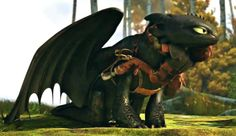 Hiccup and Toothless...this puts the biggest smile on my face :D ^_^
