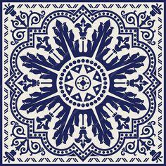 PRINTABLE Mandala style wall art, Navy blue Set of 2 medallion motif prints, Digital tiles Square geometric design, DIY posters Geometric Wall Art, Geometric Designs, Wall Art Prints, Canvas Prints, Home Decor Sets, Blue Tiles, Art Original, Art Mural, Tile Patterns