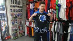 【新宿2号店】 2014年5月3日 コーディーネートにもハマったマジックのTシャツをご購入。 次回も野球のお話し期待しています♪ #nba
