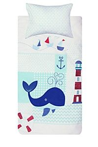 Our cotton, 200 thread count non allergenic duvet cover set with embroidered detail provides your baby with a soft and smooth feel. Includes one pillowcase, the duvet cover measures