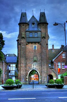 Gate of The City Wall - Kempen, Germany