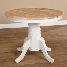 Simple Living Rubberwood Farmhouse Table - Free Shipping Today - Overstock.com - 11608108 - Mobile