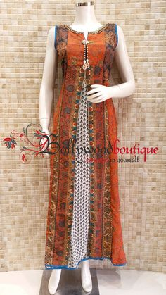 Salwar Neck Designs, Kurta Designs, Blouse Designs, Kurti With Jacket, Cotton Long Dress, Trendy Dresses, Simple Dresses, Kurti Styles, Fashion Sewing