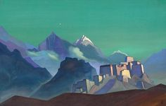 IntentoMensajero (Madrid): PINTURA EXPLORACIÓN: Nikolai Roerich (o Rérij) #pintura #humanist