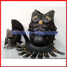 •Made from : Iron steel with adjustable buckles, (you can adjust size as per your fitting) •Chest Size : 48 to 52 inches (adjustable) •Comes with front and back portions •Can it be used for : reenactment ? Yes •With Roman Leather Belt with Brass Accent       Famous Words of I... more details available at https://perfect-gifts.bestselleroutlets.com/gifts-for-holidays/water-sports-items/product-review-for-amour-breastplate-300-spartan-helmet-hallo