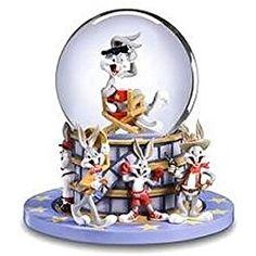 THE SAN FRANCISCO MUSIC BOX COMPANY Looney Tunes Waterglobe Bugs Bunny Star SF