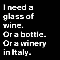 A winery in Italy :)