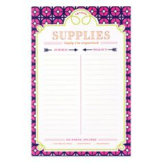List Pad by Jonathan Adler - Iron Gate