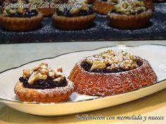 Sablé bretón con mermelada y nueces, esta tarde vamos a merendar unas riquísimas tartaletas con mermelada y nueces que son una delicia y con un buen café ¡¡Ufff que ricas!!  Receta en mi Blog: https://lacocinadelolidominguez.blogspot.com.es/2017/06/sable-breton-con-mermelada-y-nueces.html    Videoreceta en You Tube: https://www.youtube.com/watch?v=Yi3qHSuLOS8