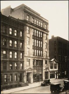 #16 West 60 St. N.Y.C. [The Laidlaw Co. building.]