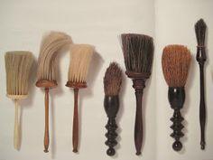 Barber's brushes