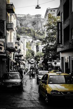 Athens Acropolis & Starbucks