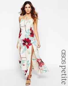 ASOS PETITE Floral Maxi Dress at asos.com #maxidress #women #covetme#floral