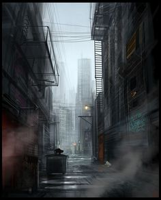 "The ""Dark Alley"" concept... what if we took all the dark, scary, garbage-filled alleyways and filled them with light, color, and something pleasant- suddenly these secondary service spaces become ""the place to be!"""