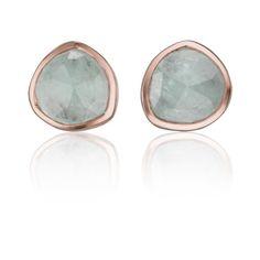 Monica Vinader Siren Stud Earrings (275 NZD) ❤ liked on Polyvore featuring jewelry, earrings, monica vinader, stud earring set and stud earrings