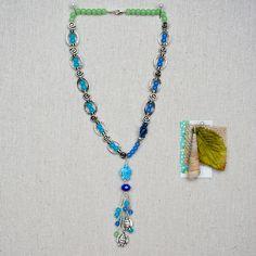 Nicole's Bead Shop Turtle Love Necklace #jewelry #DIY