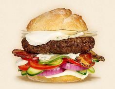 The Cheese & Burger Society features Wisconsin Cheese in delicious topping ideas for your homemade cheeseburger recipes. Burger Dogs, My Burger, Good Burger, Cheese Burger, Burger Fresh, Tasty Burger, Pizza Hamburger, Hamburger Recipes, Big Burgers
