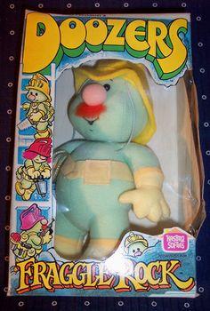 I LOVE DOOZERS!!!! 1985 Doozer Fraggle Rock Hasbro Softies Fraggles Jim Henson 80's Toy Doozers   eBay