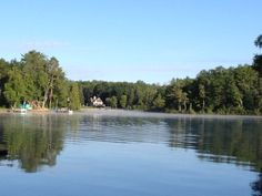 AM Fog on Long Lake, Hale MI