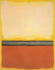 Mark Rothko, No. 25 (Red, Gray, White on Yellow), 1951, Oil on canvas,    232.5 x 295 cm
