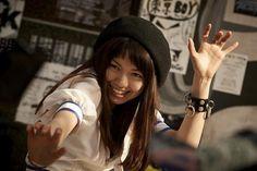 "Fumi Nikaido , Nikaido Fumi (二階堂ふみ) / ""Daily life lock(日々ロック) "" Japanese Girl, Japanese Female, Kawaii Girl, Female Bodies, Pop Culture, Beautiful Women, Singer, Actresses, Poses"