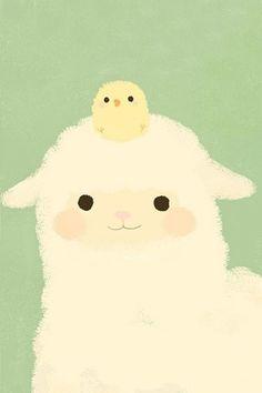 Alpaca and chicken little