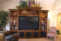 built in entertainment centers | Custom Wall Units and Built In Entertainment Centers