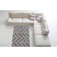 Shop for LYKE Home Contemporary Silver Jumbo Thick Shag Area Rug (5' x 7'). Get free shipping at Overstock.com - Your Online Home Decor Outlet Store! Get 5% in rewards with Club O!