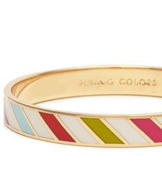 Kate Spade Flying Colors Idiom Bangle