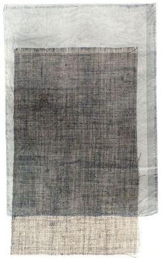A collage / The fabrics for mono type print 林孝彦 HAYASHI Takahiko 1983