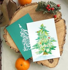 Happy new year greeting card watercolor typography lettering cyrillic inscription in Russian # calligraphy # lettering New Year's lettering Christmas Gifts For Teen Girls, Unique Christmas Gifts, Vintage Christmas Cards, Christmas Tag, Xmas Cards, Holiday Cards, Christmas Crafts, Happy New Year Letter, Happy New Year Cards