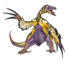 Therizinosaurus This one looks like a digimon Cool Dinosaurs, Thing 1, The Lost World, Extinct Animals, Prehistoric Creatures, Digimon, Godzilla, Fossils, Geology