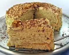 Walnut torte.  My favorite Cake.  My father and I would fight over it when my mom would make a nut torte.  Hers is the best ever.
