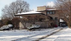 Frank Lloyd Wright In Riverside Il. The Tomek House 3 | Flickr: Intercambio de fotos