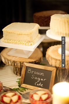 Yes - Rustic cake table (Kelly Sweet Photography) | CHECK OUT MORE IDEAS AT WEDDINGPINS.NET | #weddings #rustic #rusticwedding #rusticweddings #weddingplanning #coolideas #events #forweddings #vintage #romance #beauty #planners #weddingdecor #vintagewedding #eventplanners #weddingornaments #weddingcake #brides #grooms #weddinginvitations