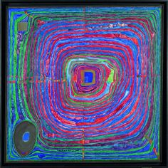 Paintings - Hundertwasser